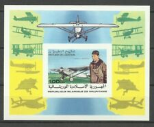 Mauritanie Aviation Lindbergh Spirit St Louis Non Dentele Imperf Proof ** 1977