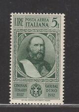 FRANCOBOLLI - 1932 REGNO GARIBALDI POSTA AEREA L.5 MNH Z/8394