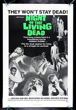 NIGHT OF THE LIVING DEAD * CineMasterpieces 1968 ORIGINAL ZOMBIE MOVIE POSTER