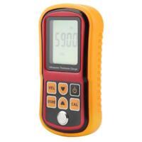 Digital Ultrasonic Thickness Tester Sound Gauge Meter 1.2~220mm GM100