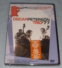 Oscar Peterson Trio '77 Norman Granz Jazz in Montreux DVD 2004 NIP w/ Seal