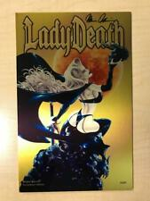Lady Death Wicked Ways #1 Necroshine METAL Variant Cover by Eliseu Gouveia /44