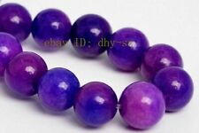 "6-14MM PURPLE AFRICA SUGILITE GEMSTONE ROUND LOOSE BEADS 15"" STRAND AA"
