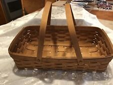 VINTAGE LONGABERGER BASKET 1991 SIGNED