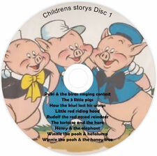 9 Children Stories on CD Classic Children's Story Kids books Audio 1