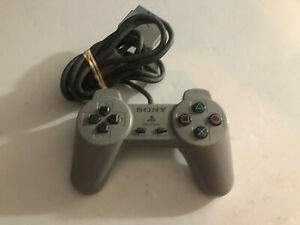 Sony Playstation 1 PS1 Official Gray Controller SCPH-1080 Fully Tested OEM