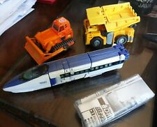 LOT OF TRANSFORMERS FIGURE LOOSE HEAVY LOAD WEDGE JRX RAIL SPIKE C012 C020 RID