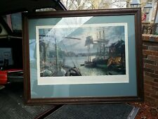 John Stobart Signed Numbered Baltimore Federal Hill & the Marine Observatory #2