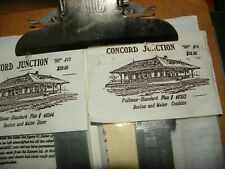 Concord Jct. Boston & Maine Pullman-Standard Stainless Steel Diner Car Sides