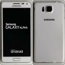 Samsung Galaxy Alpha (SM-G850F) Smartphone (Unlocked), 32GB **SEE DESCRIPTION**