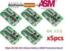 5pcs 6S 15A 24V PCB Protection Board For 6 Pack 18650 Li-ion Lithium Battery BMS