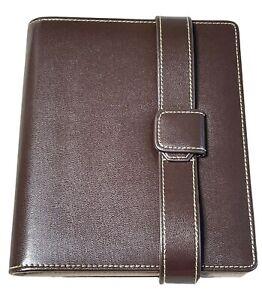 Creative Memories Pic Folio Minutes brown leather scrapbook album NEW NIB