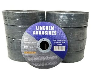 """200 Pc 4-1/2"""" x .040"""" x 7/8"""" Cut off Wheels Stainless Steel Metal Cutting Discs"""