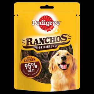 Pedigree Ranchos Dog Treats With Chicken 70g (Pack of 7)