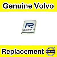 Genuine Volvo V40 R Design Badge / Emblem (Rear)