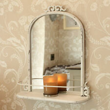 French Country Metal Frame Arched Decorative Mirrors