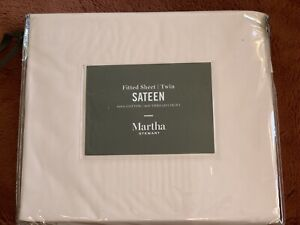 NEW Sateen Fitted Sheet Twin 100% cotton Blush / light Pink