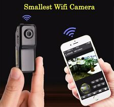 Mini Micro Spy WIFI camera cam camcorder Telecamera Nascosta Wifi Internet IP