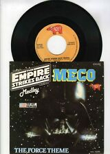 45 RPM SP OST STAR WARS MECO THE EMPIRE STRIKES BACK / THE FORCE THEME