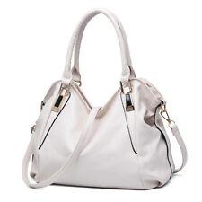 Women Leather Cross Body Shoulder Leisure Handbags Tote Bag Messenger Satchel
