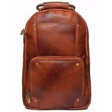 100%Leather-Back-Pack-Travel-Sport-Hiking-Bag-Pack-Rucksack-For-Men-amp-Wom