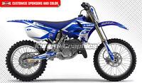 Motocross Graphics Kit MX Sticker for Yamaha YZ125 YZ250 YZ 125 250 2002 to 2014