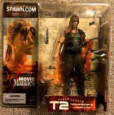 New listing McFarlane Movie Maniac Terminator|Sarah Connor Action Figure Variant W/Long Hair