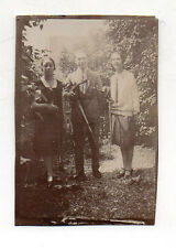 PHOTO ANCIENNE - Musiciens Musique Violon Trio - Vers 1920 - Vintage 1927