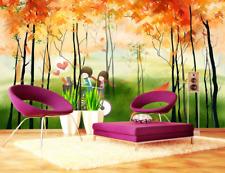 3D Romance Autumn 97 Wall Paper Murals Wall Print Wall Wallpaper Mural AU Kyra