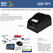 Guest Internet GIS-TP1 Ticket Printer for use w/ any Internet Hotspot Gateway