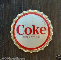 5 Vintage Original COCA COLA SODA Bottle Cap 1950s NOS Unused Old Factory Stock