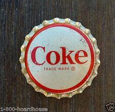 5 Vintage Original COCA COLA SODA Bottle Cap 1950s NOS Unused Old Factory Stock