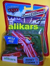 MR - BARNEY  STORMIN #6 Plane Mega Size Race O Rama Disney Mattel Cars oversized