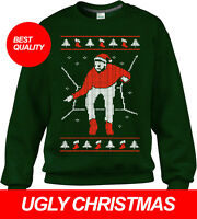 DRAKE CHRISTMAS SWEATER UGLY CHRISTMAS PARTY SWEATER