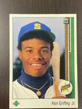 KEN GRIFFEY JR 1989 Upper Deck # 1 ROOKIE CARD RC Card  INVEST!!