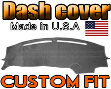 fits 2015 - 2018  DODGE CHALLENGER DASH COVER MAT  DASHBOARD PAD / CHARCOAL GREY