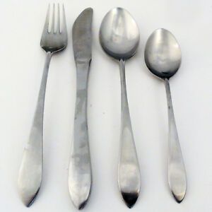 STUART Satin by WMF FLATWARE 4 Piece Place Setting NEW NEVER USED made Germany