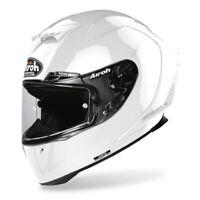 Airoh Casque Intégral Gp550 S en Fibre Hpc Couleur Blanc Brillant Divers Tailles