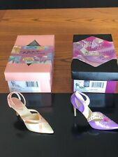 Mothers Day Just the Right Shoe lot of 2 Hearts Ablaze & Mothers are Forever