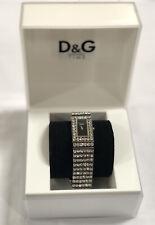 Dolce & Gabbana Time Swarovski Crystal Ladies Watch D&G - Excellent condition