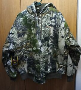 Men's Mossy Oak Mountain County Insulated Bomber Jacket M, Large, XL, 2XL or 3XL