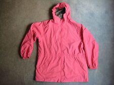 Lands End Kids L (14-16) Pink w Plaid lining Lightweight Jacket Pre-Owned
