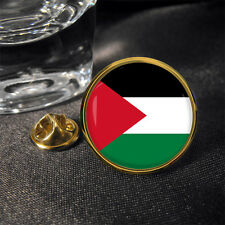 Palestinian Palestine Country Flag Zinc Alloy Butterfly Clutch Pin Badge Epoxy