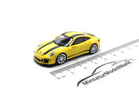 #870066222 - Minichamps Porsche 911 R - Gelb - Schwarze Streifen - 2016 - 1:87