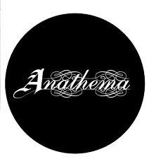 Parche imprimido, Iron on patch, /Textil sticker, Pegatina/ - Anathema