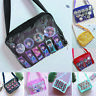 Cute Lolita Girl Itabag Clear Canvas Transparency Handbag Shoulder Crossbody Bag