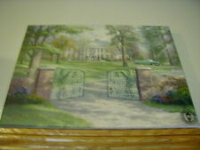 Thomas Kinkade Graceland Art Canvas HD Giclee. On Canvas Stretcher Bars16 x 12""