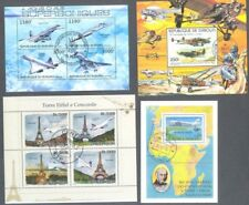Aviation-Aircraft collection of 25 all different stamp min sheets