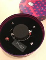 Debenhams Mood by John Richard bangle bracelet jewellery charms Gift Box