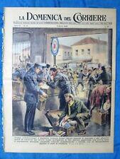 La Domenica del Corriere 3 aprile 1949 Francia - Olney,Inghilterra - Pio XII